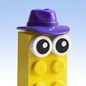 Lilac Hat Brick Avatar