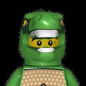 Legosgymnast Avatar