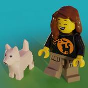 The Lego Angel Avatar
