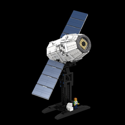 The LEGO space builder Avatar