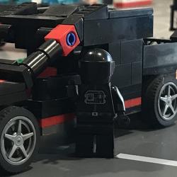 The Stig of LEGOs Avatar