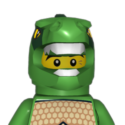 LEGO Warrior Avatar