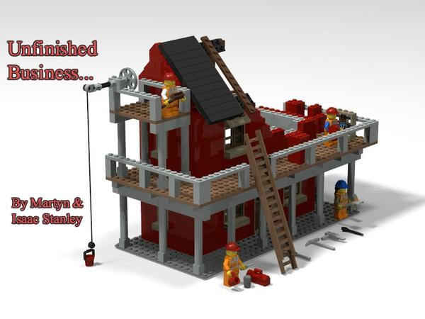 LEGO IDEAS - - Unfinished Business