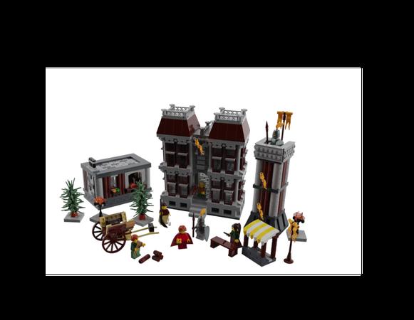 LEGO IDEAS - - Castle Marketplace