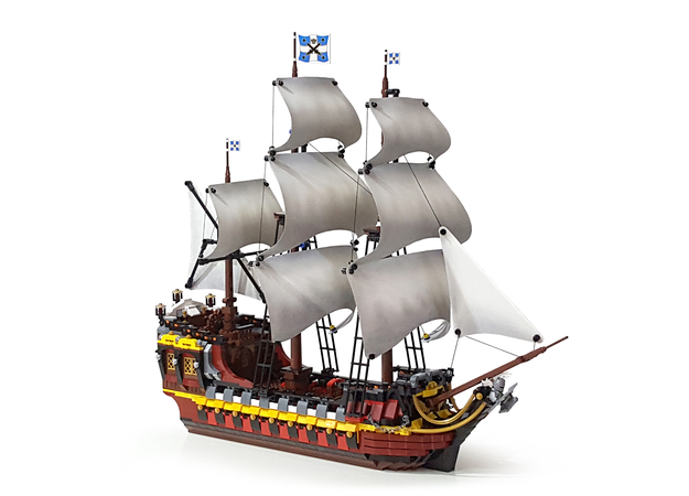 Lego Ideas Spanish Galleon Warship