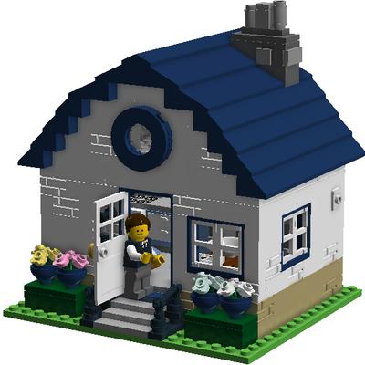 Lego Ideas Small House