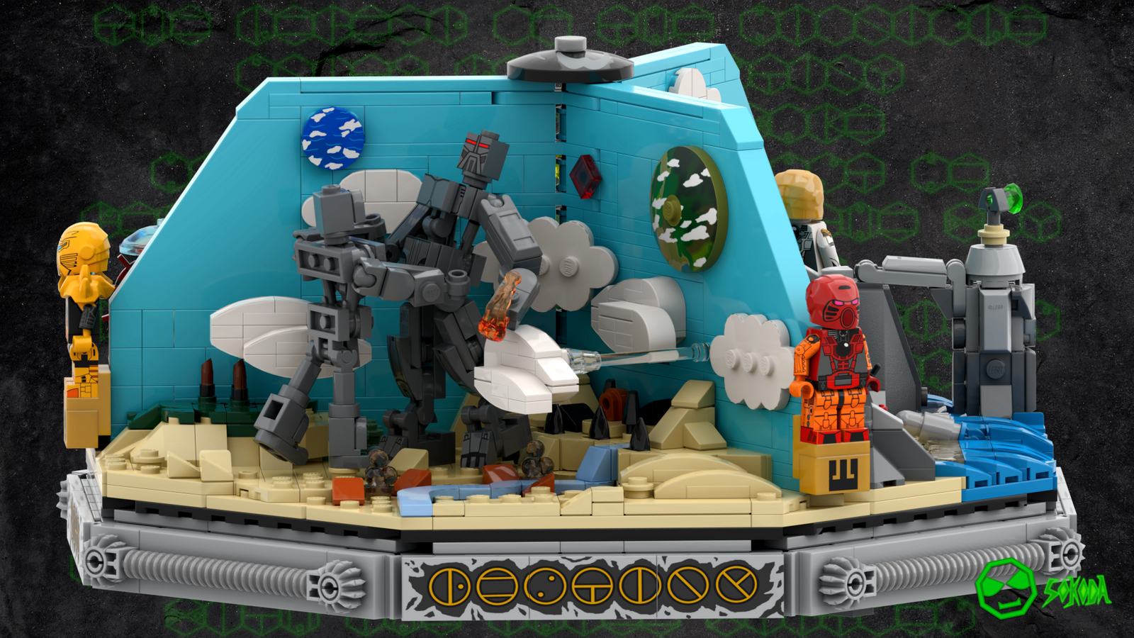 BIONICLE TOA TEMPLE Resize:1600:900