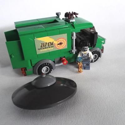 Lego Ideas Product Ideas The Men In Black Mib Galaxy