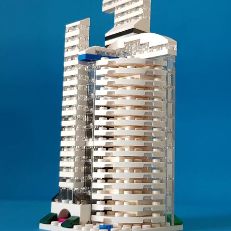 Lego Ideas Build Your Finest Micro Modular Building Luxury Hotel In Dubai