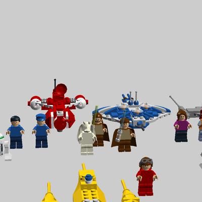 Lego Ideas Lego Star Wars Tcs Minikits Episode 1