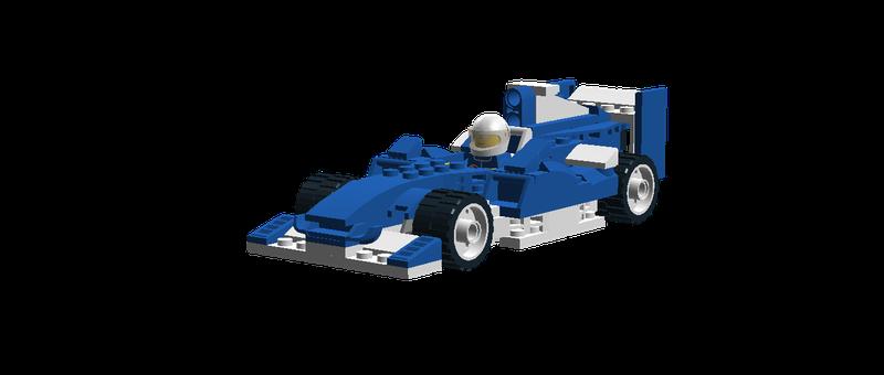 Lego Ideas Formula One Race Car