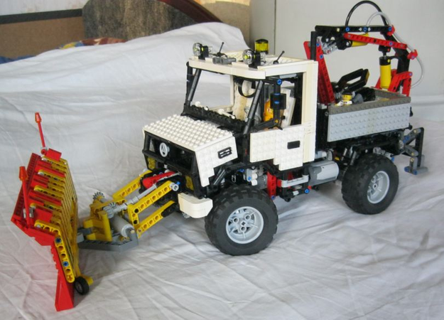 With accessories Moc Lego Unimog