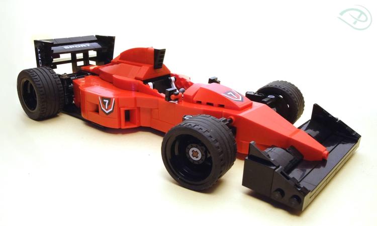 Lego Ideas Classic Formula 1 1990