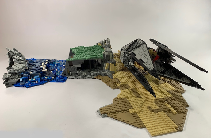Lego Ideas The Greatest Battles Built By You Battle On Tatooine And Endor In Anticipation Of The Rise Of Skywalker