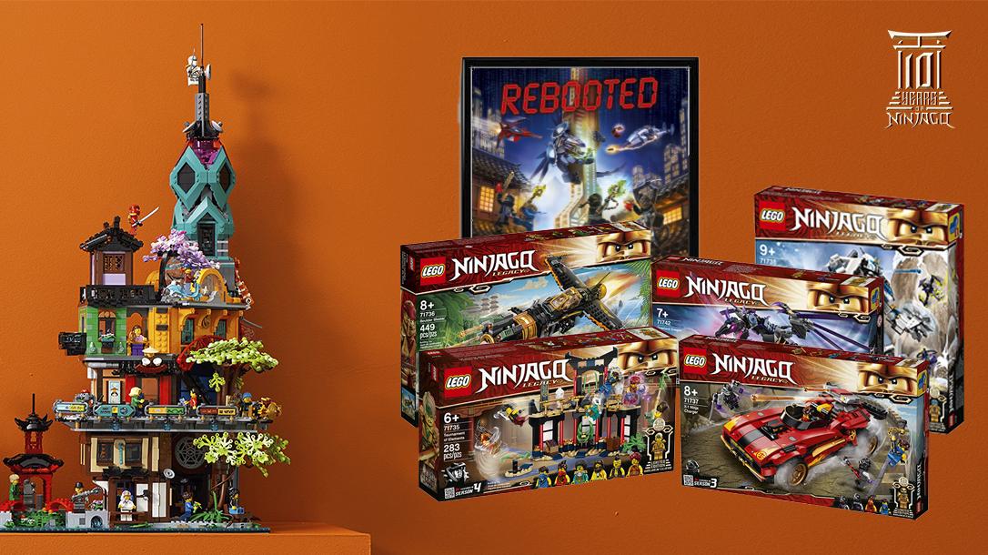 Lego Ideas 10 Years Of Lego Ninjago