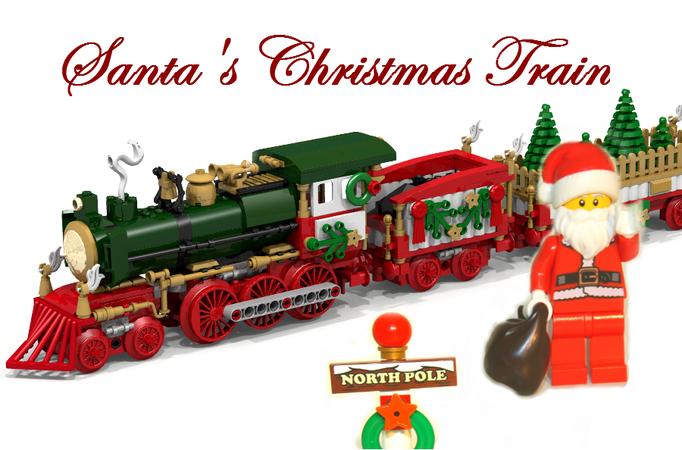 Lego Christmas Train.Lego Ideas Product Ideas Santa S Christmas Train