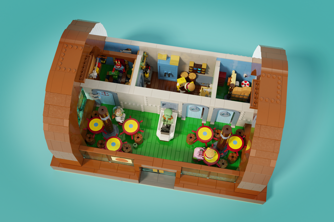 Lego Ideas Spongebob Squarepants The Krusty Krab Achieves 10 000 Supporters The Brick Fan