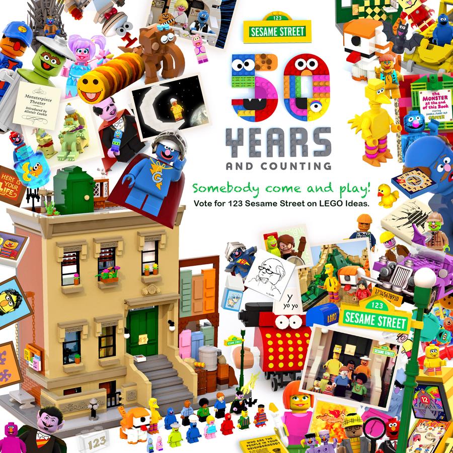 Les 50 ans de Sesame Street