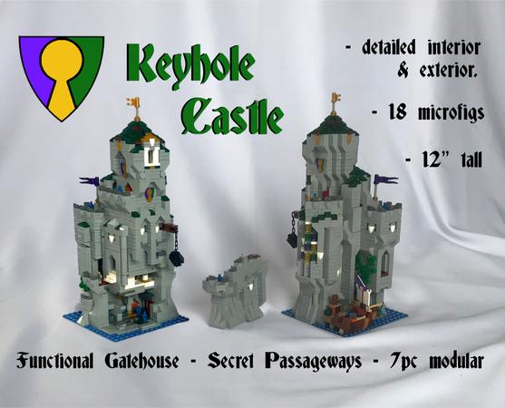 LEGO IDEAS - - Keyhole Castle
