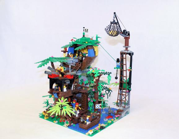 Lego Ideas Shipwreck Island