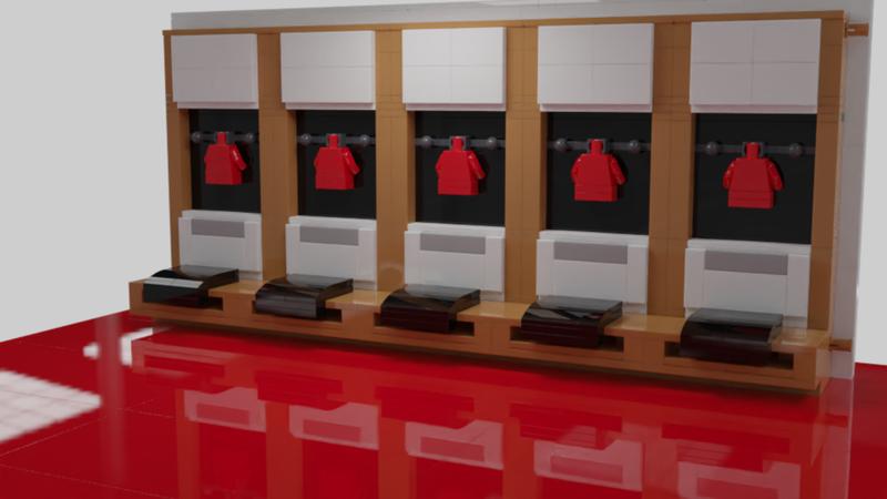 Lego Ideas Build United Manchester United Dressing Room