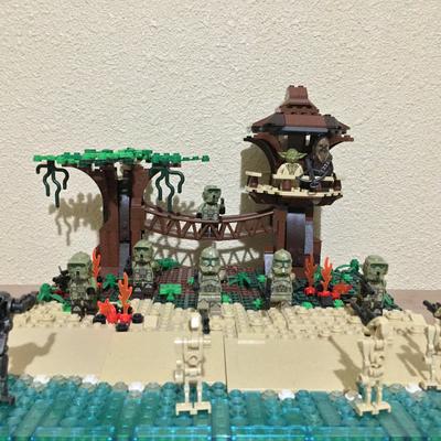 Lego Ideas The Greatest Battles Built By You Battle Of Kashyyyk Moc