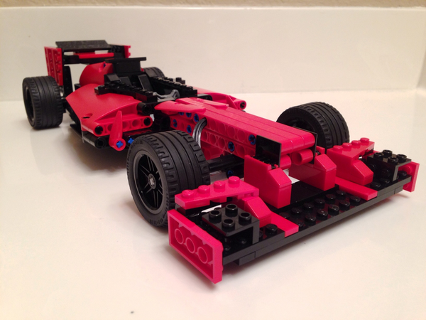 F1 Race Car Lego