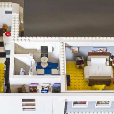 Lego Ideas Emmet S Apartment From The Lego Movie