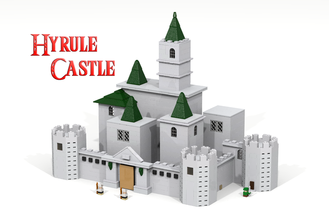 Lego Ideas Hyrule Castle The Legend Of Zelda Ocarina Of Time