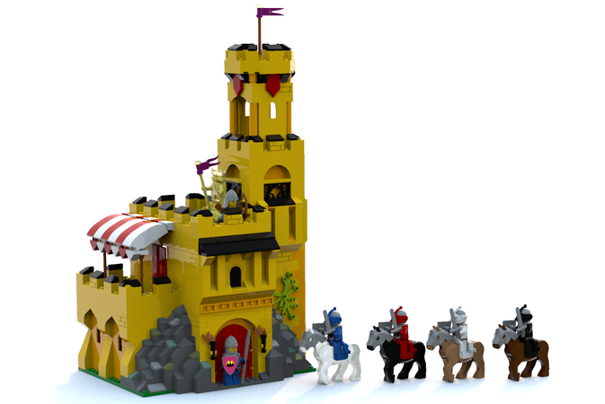 LEGO IDEAS - - King Krentz's Castle Keep and the Knights of