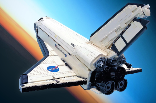 10K Club Interview: Meet Sam Nelson of UCS Space Shuttle Atlantis Image