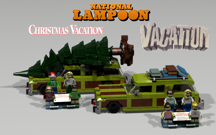 Christmas Vacation Car.Lego Ideas Product Ideas National Lampoon S Vacation