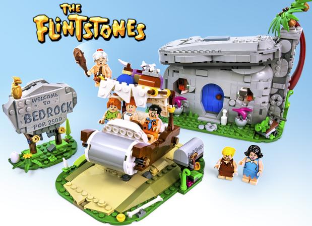 LEGO Flintstones Wilma Feuerstein Minifigur Figur Flintstone Ideas 21316