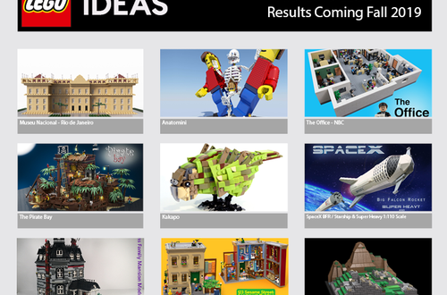 LEGO Ideas First 2019 Review Results - Live streaming tomorrow Image
