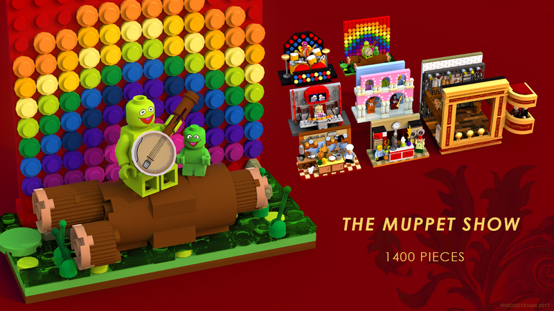 balcony muppets characters LEGO IDEAS The Muppet Show