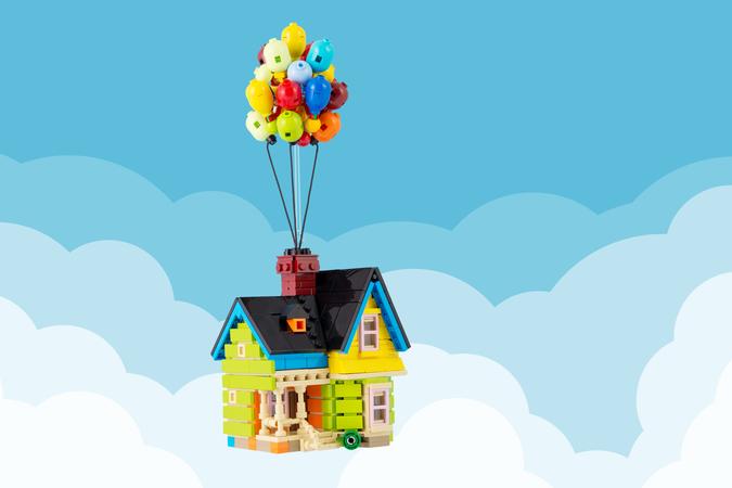 LEGO IDEAS - Up House
