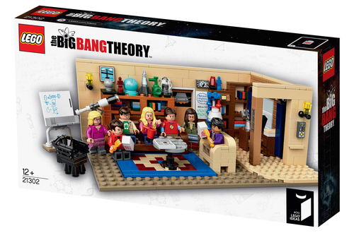 First look: LEGO Ideas #010 The Big Bang Theory Image