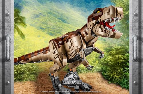 New Contest - Jurassic World: Unleash your own genetically modified hybrid dinosaur! Image