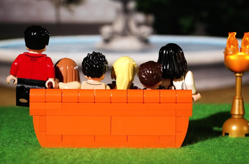 LEGO Ideas Central Perk - First look Image