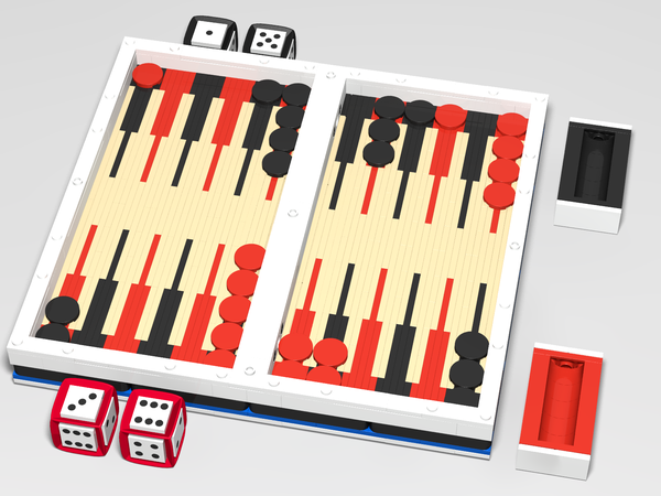 Lego Ideas Product Ideas Backgammon And Checkers