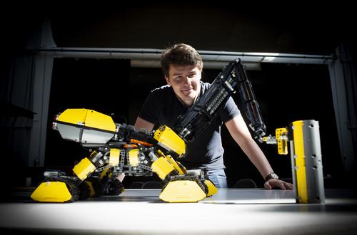 LEGO Technic Volvo Construction Machines of the Future Exhibition Image