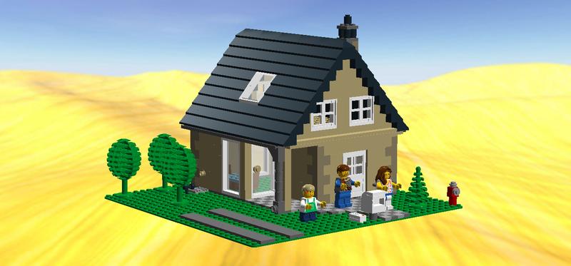 Lego Ideas Small Lego City Single Family House