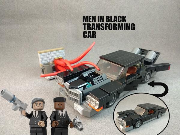 Lego Ideas Product Ideas Mib Transforming Car