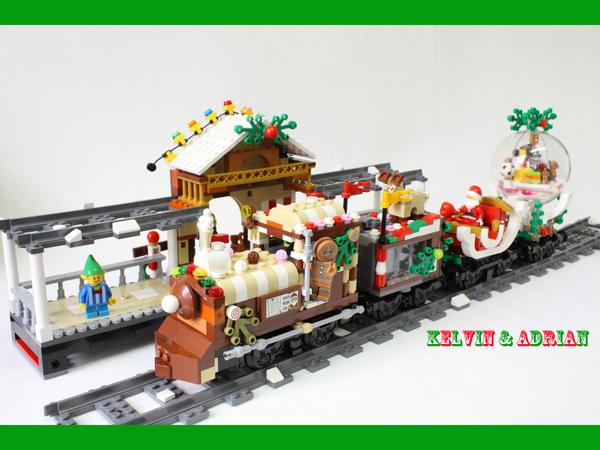 Lego Christmas Train.Lego Ideas Product Ideas Christmas Train