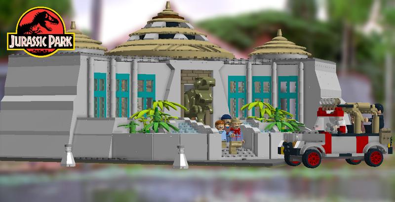 Tim Lex Murphy Lego ® Jurassic Park 1™ John Hammond Ellie Sattler MOC