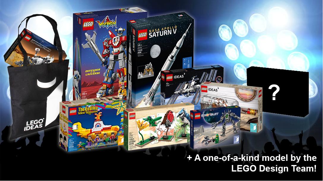 Concurs organizat de LEGO® Ideas: Music to our ears!