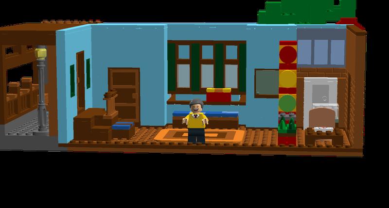 Lego Ideas Mister Rogers Neighborhood House