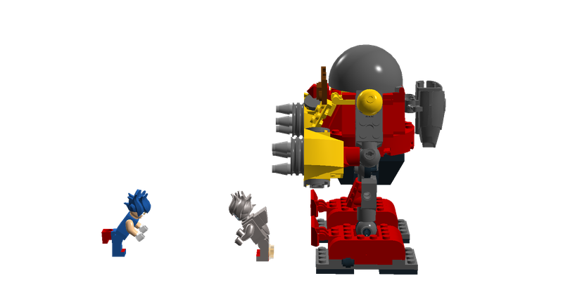 Lego Ideas Sonic The Hedgehog 2 Death Egg Robot