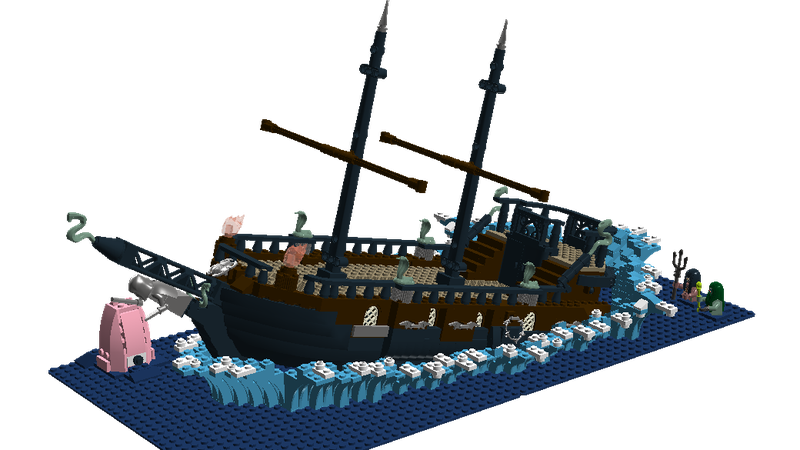 Lego Ideas Head Back To Hogwarts Durmstrang Ship Bursts Out Of Hogwarts Lake I like the architectural design of the windows (though the windows can't be opened due to the same reason). durmstrang ship bursts out of hogwarts