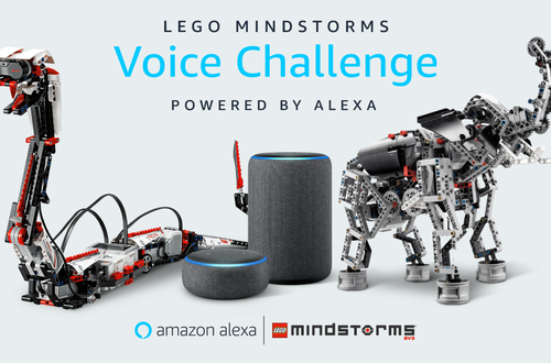 LEGO® Mindstorms and Amazon Alexa roll-out voice-based robotics challenge Image
